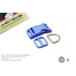 Kit Collier Pour Chien: 13mm / haute qualité / bleu (bleu ciel)