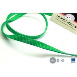 1m x 10mm Sangle / Polypropylène / Epais / Fabriqué dans l'ue / Vert