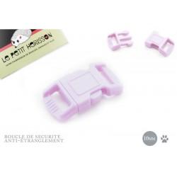 1 x 10mm Boucle de Sécurité Anti-étranglement pour chat - Violet Clair