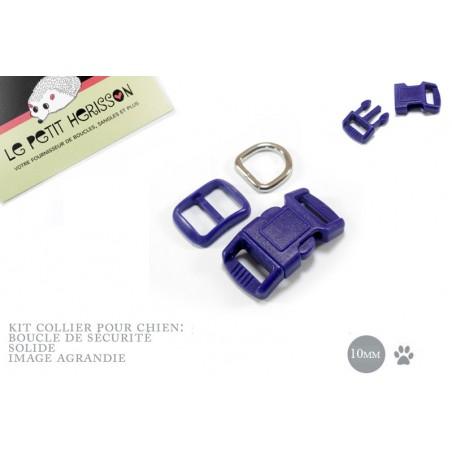 10mm Kit Collier Pour Chien / haute qualité / bleu marine