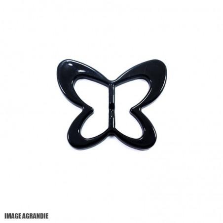 1 x 20mm Boucle de ceinture / Plastique / Papillon