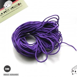 1m x 2mm Paracorde  /UNI / violet