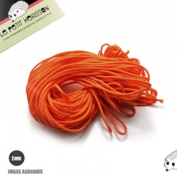 1m x 2mm Paracorde / UNI / orange
