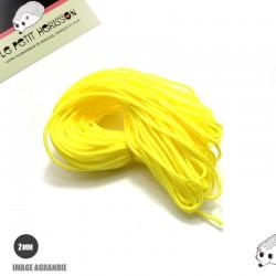 1m x 2mm Paracorde / UNI / jaune