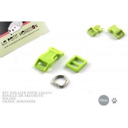10mm Kit Collier Pour Chien / haute qualité / vert printemps