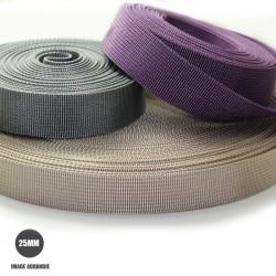 1m x 25mm Sangle / Nylon / Moyen /  choix de couleurs (dernière de stock)