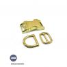 Kit Collier Pour Chien: 20mm / Metal / haute qualité / Laiton
