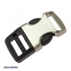 1 x  Boucle Attache Rapide / Fermoir Clip / Metal et Plastique