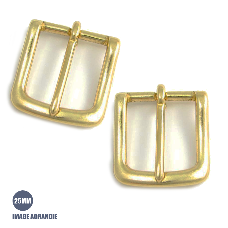 2 x 25mm Boucles de Bride / Latin Massif