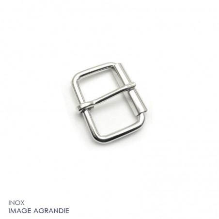 2 x Boucles à rouleau / Inox