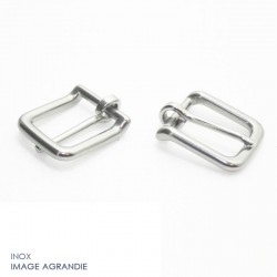 2 x 20mm Boucles de Bride / Inox
