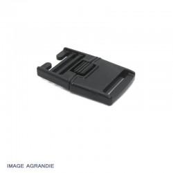 1 x 25mm Boucle Centre / Plat / Plastique /  Serrure centrale / Carre