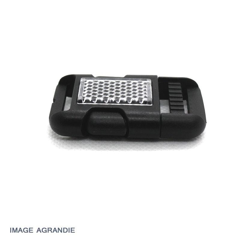 1 x 25mm Boucle Attache Rapide / Fermoir Clip / Plastique / décoratif / Noir