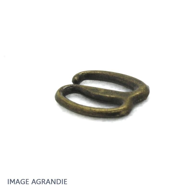 2 x 10mm Boucles pour sandales / Métal / Style2