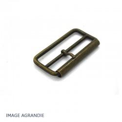 2 x 40mm Boucles à rouleau / Métal / Etroit