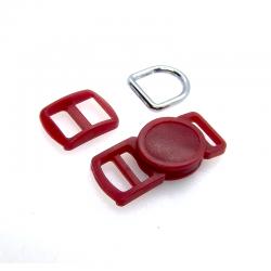 10mm Kit Collier Pour Chat / haute qualité / bleu