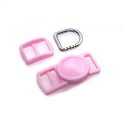 10mm Kit Collier Pour Chat / haute qualité / rose clair