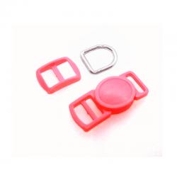 10mm Kit Collier Pour Chat / haute qualité / rose 1