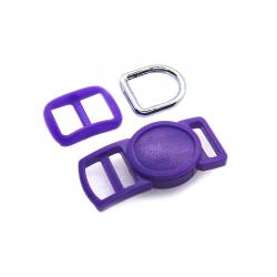 10mm Kit Collier Pour Chat / haute qualité / violet