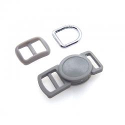 10mm Kit Collier Pour Chat / haute qualité / gris clair