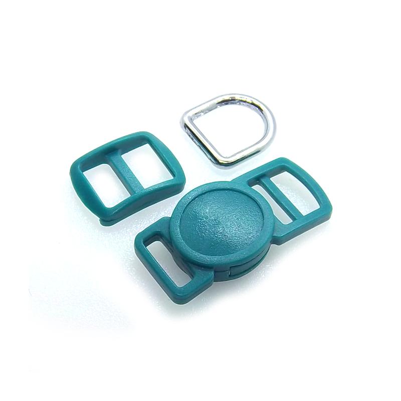 10mm Kit Collier Pour Chat / haute qualité / vert fonce