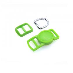 10mm Kit Collier Pour Chat / haute qualité / vert flou