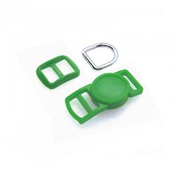 10mm Kit Collier Pour Chat / haute qualité / vert