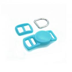 10mm Kit Collier Pour Chat / haute qualité / turquoise