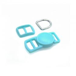 10mm Kit Collier Pour Chat / haute qualité / bleu 2