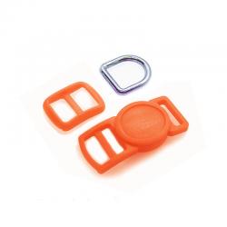 10mm Kit Collier Pour Chat / haute qualité / orange