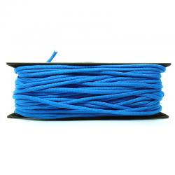 1m x 4mm Paracorde 550 / uni / bleu azure